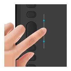 przyciski do Huion H1161