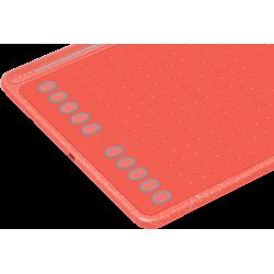 HUION HS611 CZERWONY tablet graficzny